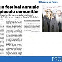Un festival annuale sulle piccole comunità