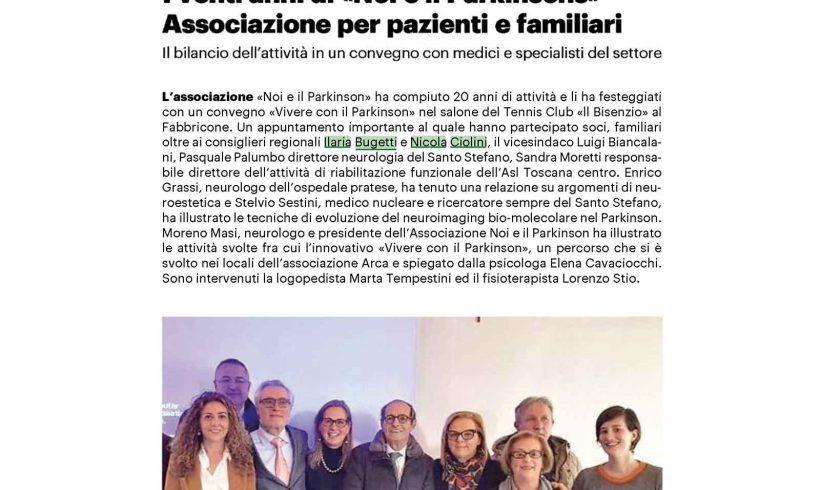 """I 20 anni dell'Associazione """"Noi e il Parkinson"""""""