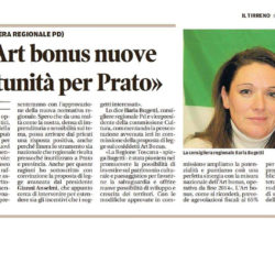 Art Bonus: nuove oppurtunità per Prato