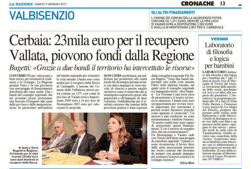 Cerbaia: 23mila euro per il recupero