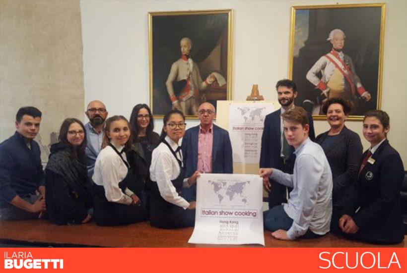 Gli studenti dell'alberghiero Datini ambasciatori del gusto Made in Italy