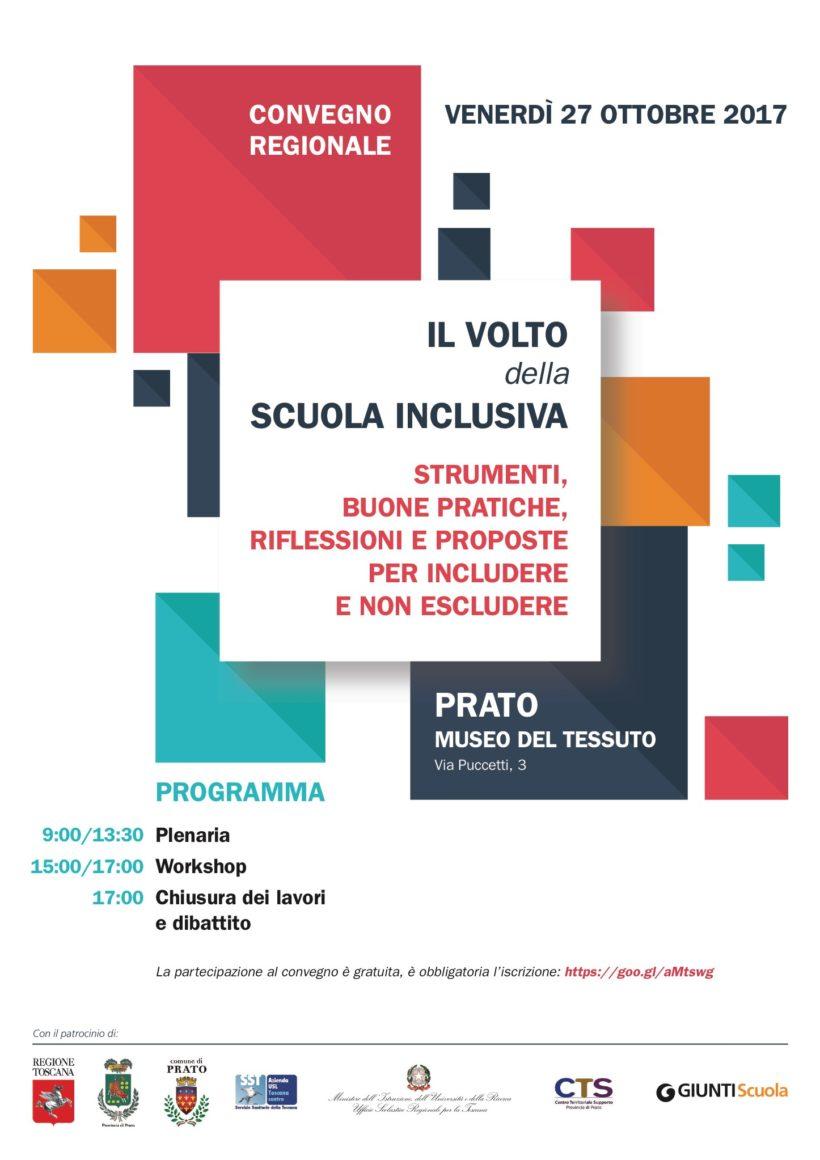Il Volto della Scuola Inclusiva – Convegno Regionale