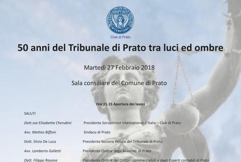 50 anni del Tribunale di Prato