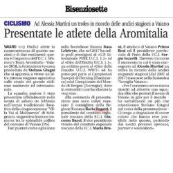 Presentazione atlete Aromitalia