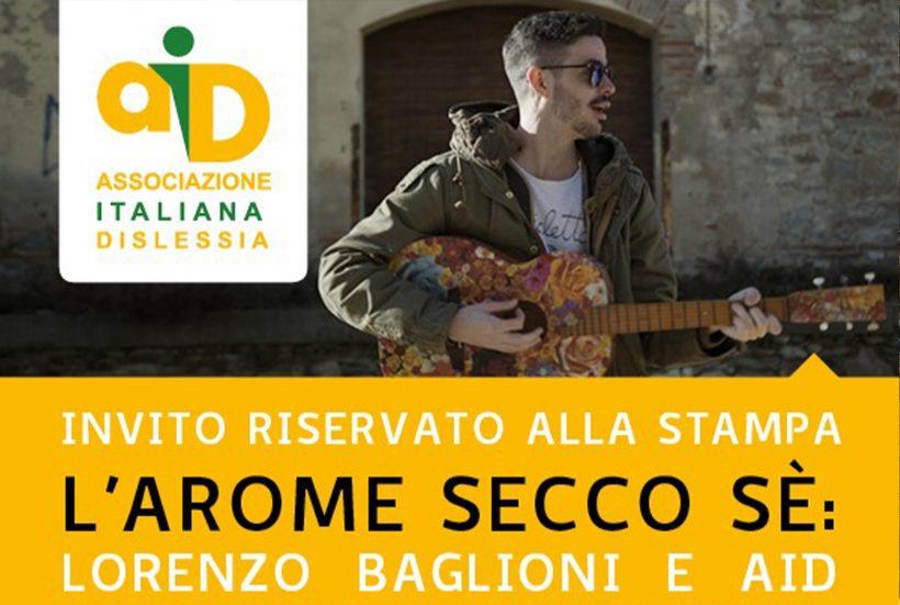 """""""L'arome secco sé"""" – Lorenzo Baglioni canta la dislessia e l'amore"""