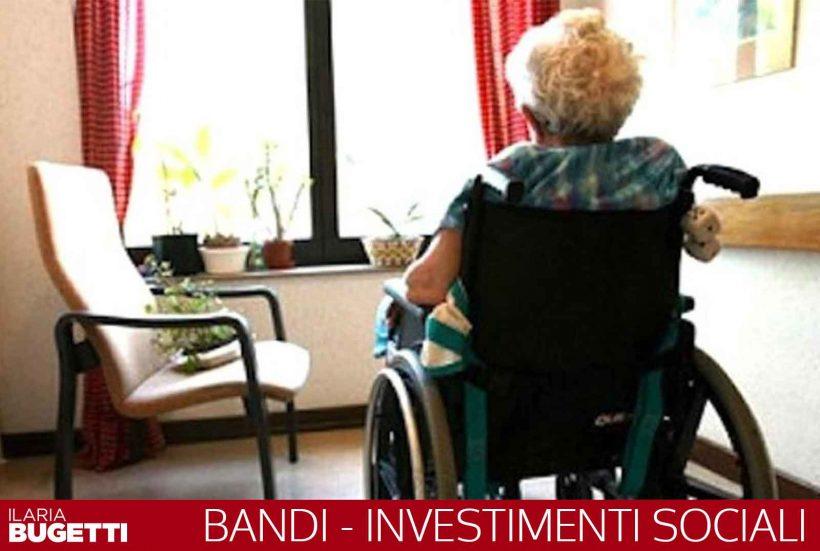 Investimenti sociali assegnati oltre 1.300.000 euro