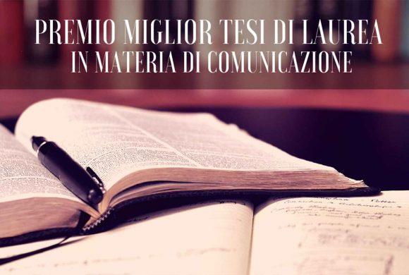Premio Tesi di Laurea in Comunicazione