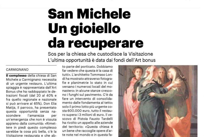 ART BONUS – San Michele un gioiello da recuperare