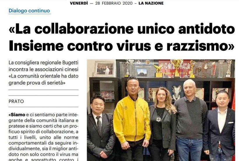 Insieme contro virus e razzismo