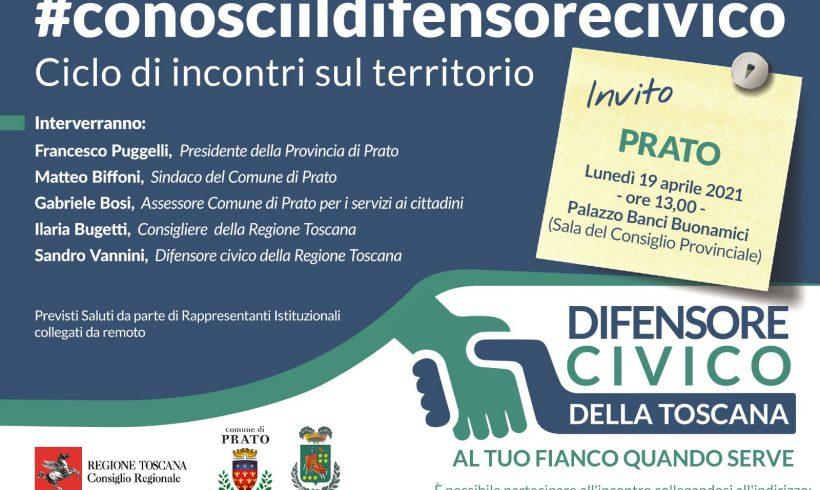 Torna a Prato lo sportello del Difensore Civico